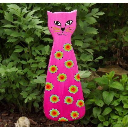 Gartendeko Katze Holz by Gartenstecker Gartendeko Katze Gartendeko Holz