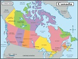 Canadian Provinces & Territories   Canada, Map, Travel alone