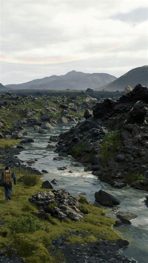 wallpaper death stranding   screenshot  games