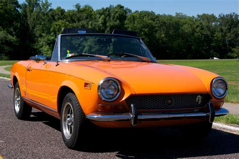 72 Fiat Spider by 1972 Fiat 124 Sport Spider For Sale On Bat Auctions Sold