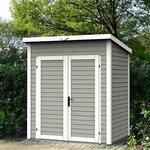 Abri De Jardin Monopente : abri de jardin skur 3 peint en bois m2 couleurs ~ Dailycaller-alerts.com Idées de Décoration