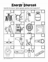 Energy Worksheet Come Heat Sound Does Worksheets Grade Kindergarten Printable 2nd Sources Science Preschool Coloring Sheet Solar Pay Clipart Resources sketch template
