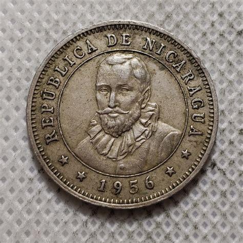 Nikaragva 25 sentavai 1956-1964 Metai 1956