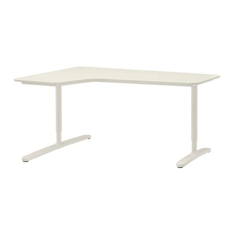 White Ikea Galant Corner Desk by Bekant Corner Desk Left White Ikea