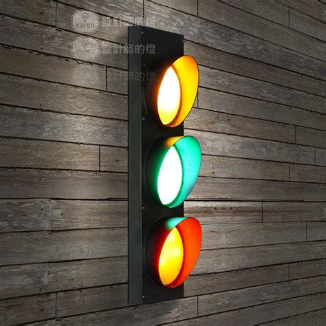 traffic signal led wall ls american country style wall