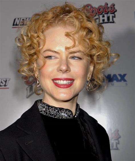 Nicole Kidman Curly Formal Updo Hairstyle