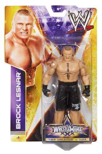 WWE WrestleMania 30 Brock Lesnar Action Figure   Buy