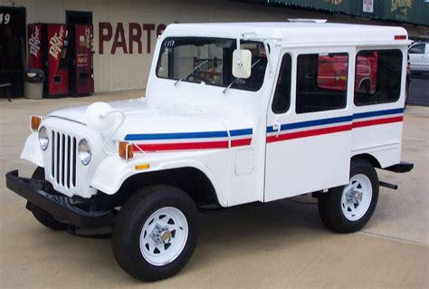 Postal Jeep Parts