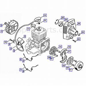 Stihl Fs 450 Clearing Saw  Fs450k  Parts Diagram  Ignition System