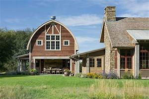 pole-barn-home-plans-Exterior-Farmhouse-with-arched-roof