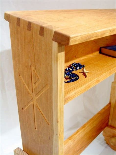 plans woodworking plans prayer kneeler
