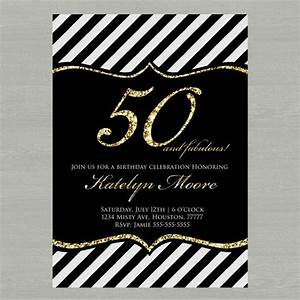 Free Printable 50th Birthday Invitations Template Invitation Templates Drevio