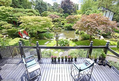herbert goodes hertforshire home  japanese gardens