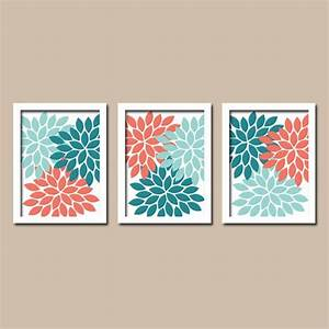diy coral navy floral wall decor hello beautiful design With kitchen cabinets lowes with comic canvas wall art