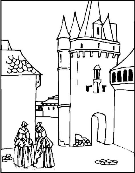 castle coloring pages coloringpagescom