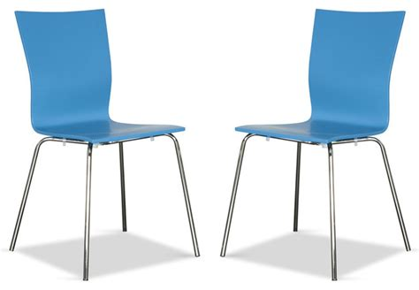 colette blue chair set modern dining chairs