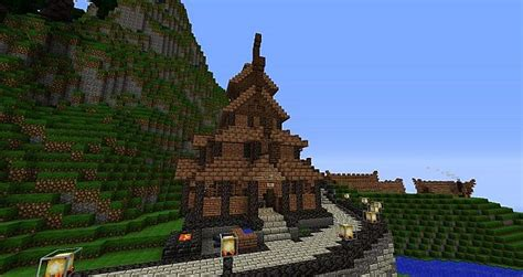 nordic house minecraft map