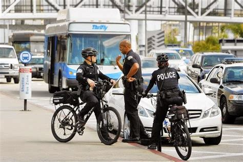 Lyft Drivers And The Police At Lax Airport