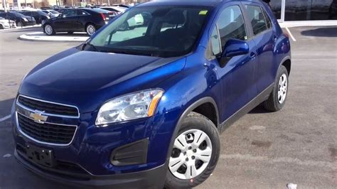 2014 Chevrolet Trax Ls Review [blue Topaz] St#140490
