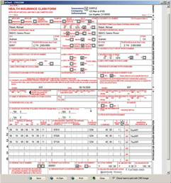 CMS-1500 Form Example