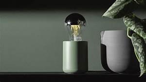 Vert D Eau Couleur : lampe couleur vert d 39 eau collection base edgar homifab ~ Mglfilm.com Idées de Décoration