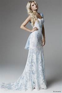 Light blue lace wedding dress dresses trend for Light blue wedding dresses