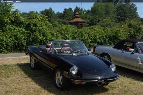 1975 Alfa Romeo Spider Veloce 2000 Pictures, History