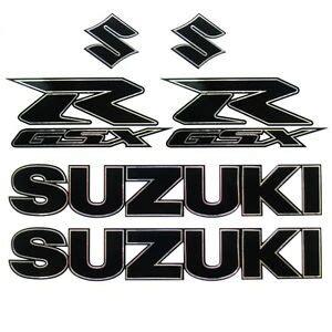 Suzuki Motorcycle Decals by Suzuki Motorcycle Decals Graphics Sticker Pack Gsxr Silver