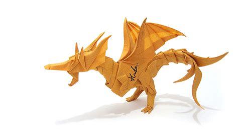 kade chan origami blog 香港摺紙工作室 日誌 fiery dragon ver 2