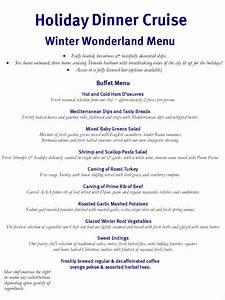 Winter Wonderland Menu Ideas