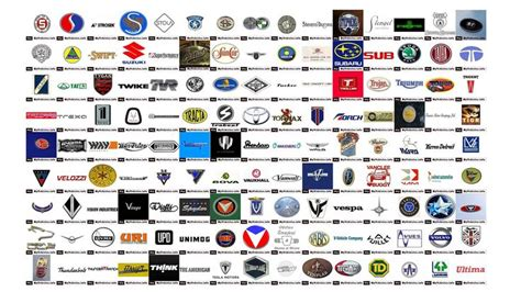 Of Automotive Companies by Car Manufacturers Logos 9 Car Manufacturers Logos