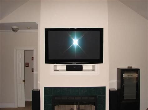 eliminate  tv niche   fireplace home