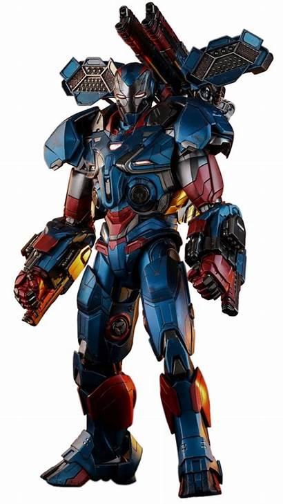 War Machine Iron Mark Armor Patriot Endgame