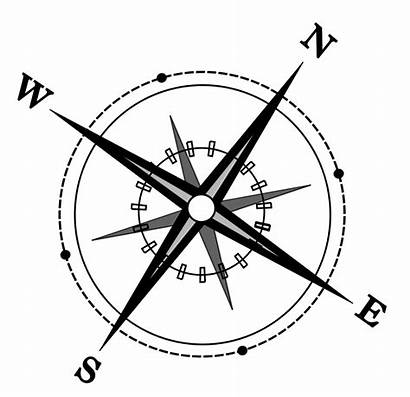 Compass Drawing Line Clip Clipart Hospice Started