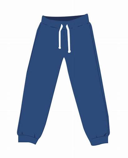 Sweatpants Vector Illustration Pants Jogging Clipart Clip