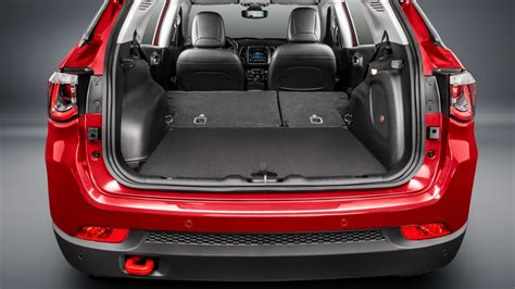 jeep compass 2017 trunk space 2017 jeep compass officially revealed performancedrive