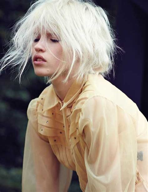 Bleached Hairstyles by 20 Best Bleached Hair Hairstyles 2017
