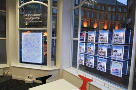 displays  estate agents
