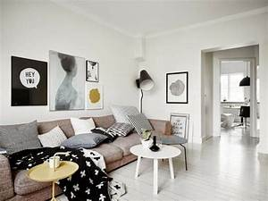 Skandinavisch Einrichten Shop : 85 wohnzimmer chillig einrichten schwarz ~ Lizthompson.info Haus und Dekorationen