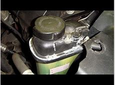 HOW TO Remove Expansion Tank BMW 5 Series 3 Series E90 E39