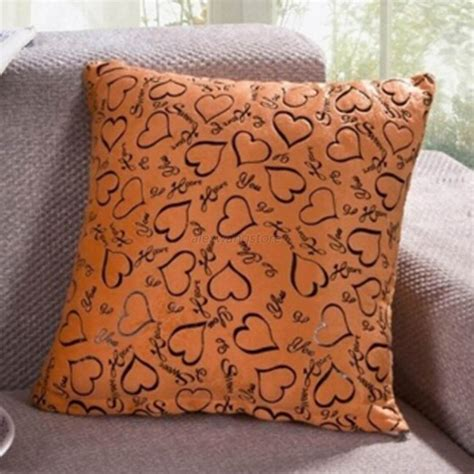 decorative throws for sofas heart retro throw pillow cases home bed sofa decorative