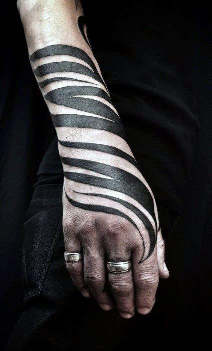 zebra tattoos  men safari striped design ideas