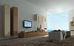 Modern wall units from momentoitalia for Modern living room tv wall units