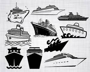 Cruise Ship SVG Bundle Cruise Ship SVG Cruise Ship Clipart ...