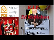 Publishers Clearing House Ed Mcmahon - roomdesign