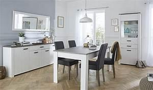 Salle a manger complete gris et blanc perle marquis http for Salle À manger contemporaineavec meuble salle a manger blanc et gris