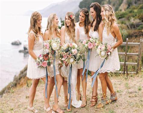 Short Bridesmaid Dress,bohemian Bridesmaid Dress,beach