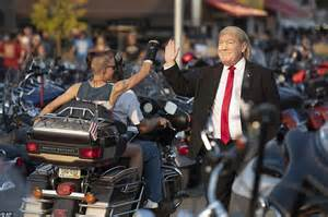 Annual Sturgis Biker Rally Brings Out Trump Supporters