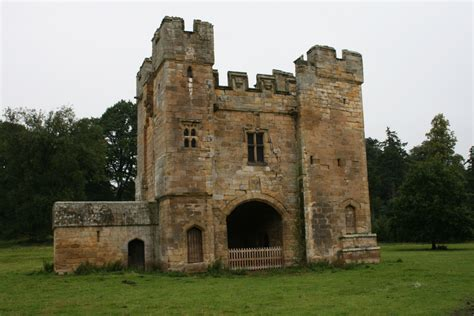 Small Castle, Hulne Park, Northumberland