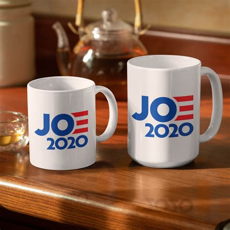The hey joe coffee mug is a travel sized coffee mug that acts just like any other coffee mug, except it can brew coffee inside of your thermos and regulate the temperature. Joe Biden 2020 Mug | Joe Biden Coffee Mug : Joshua Tree Mug Company, You Haven't Lived Until You ...